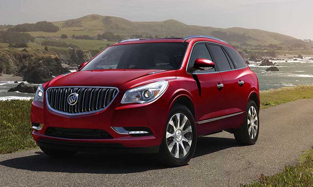 2018 buick enclave expected to complete buick s redesigned suv lineup. Black Bedroom Furniture Sets. Home Design Ideas