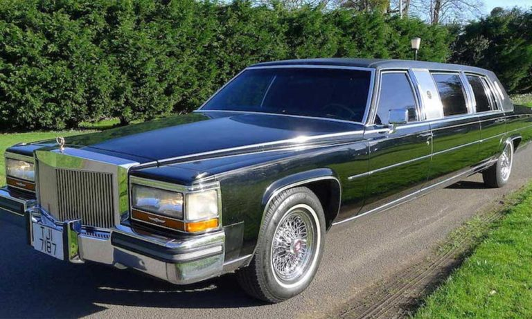 President Trump's 1988 limousine goes to auction
