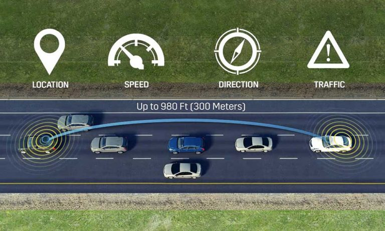 Cars talking to other cars could become the new standard technology in new cars